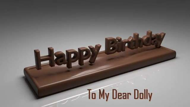 Happy birthday dolly wishes status eng status live brithday